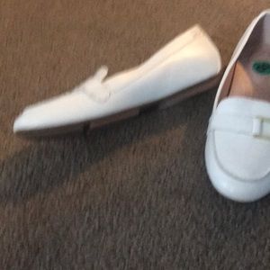 Shoes - White flats , never worn